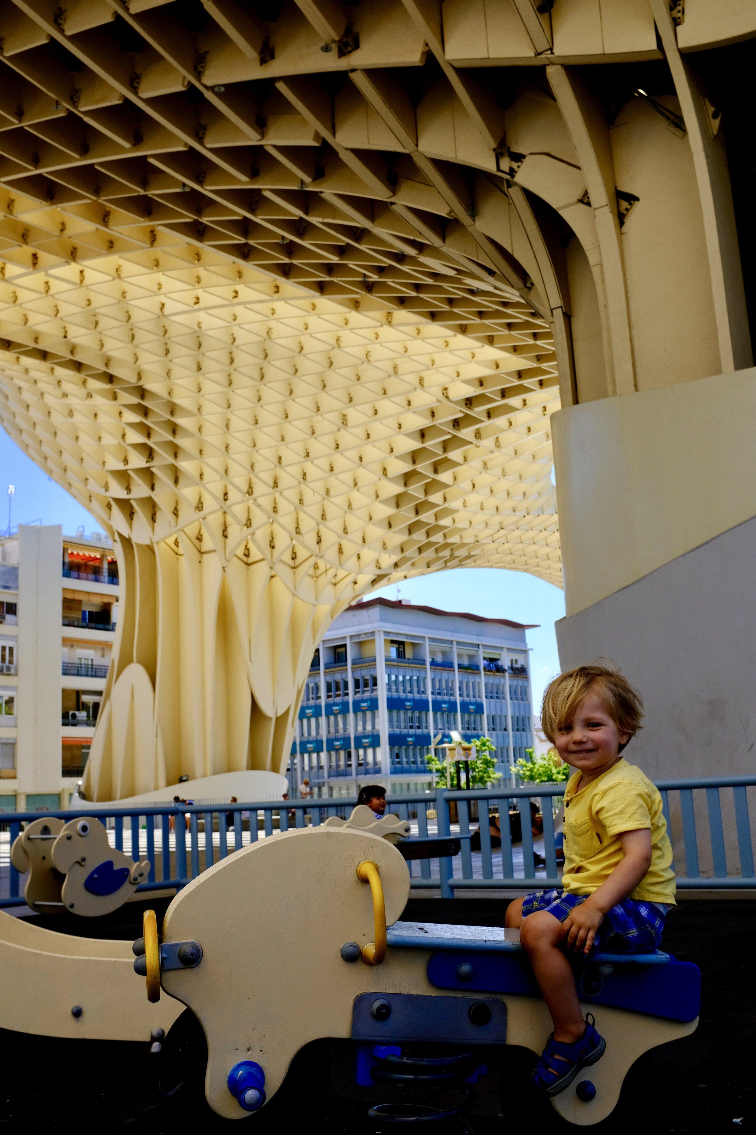 Las Setas Playground_City Nibbler_Seville