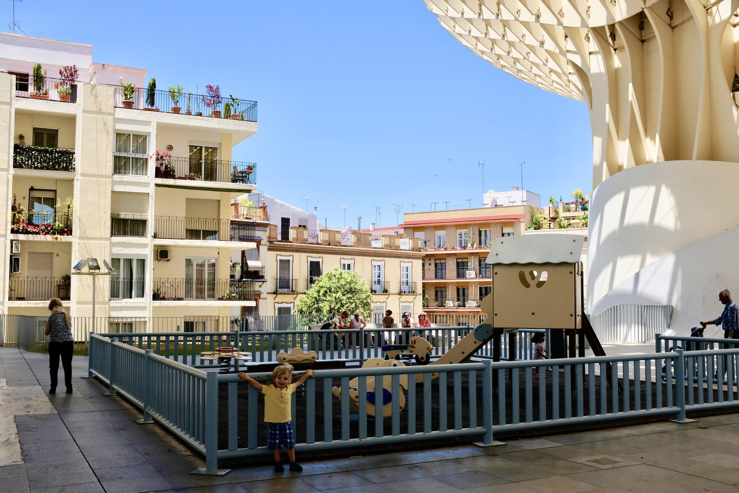 Metrosol Parasol Playground_City Nibbler_Seville