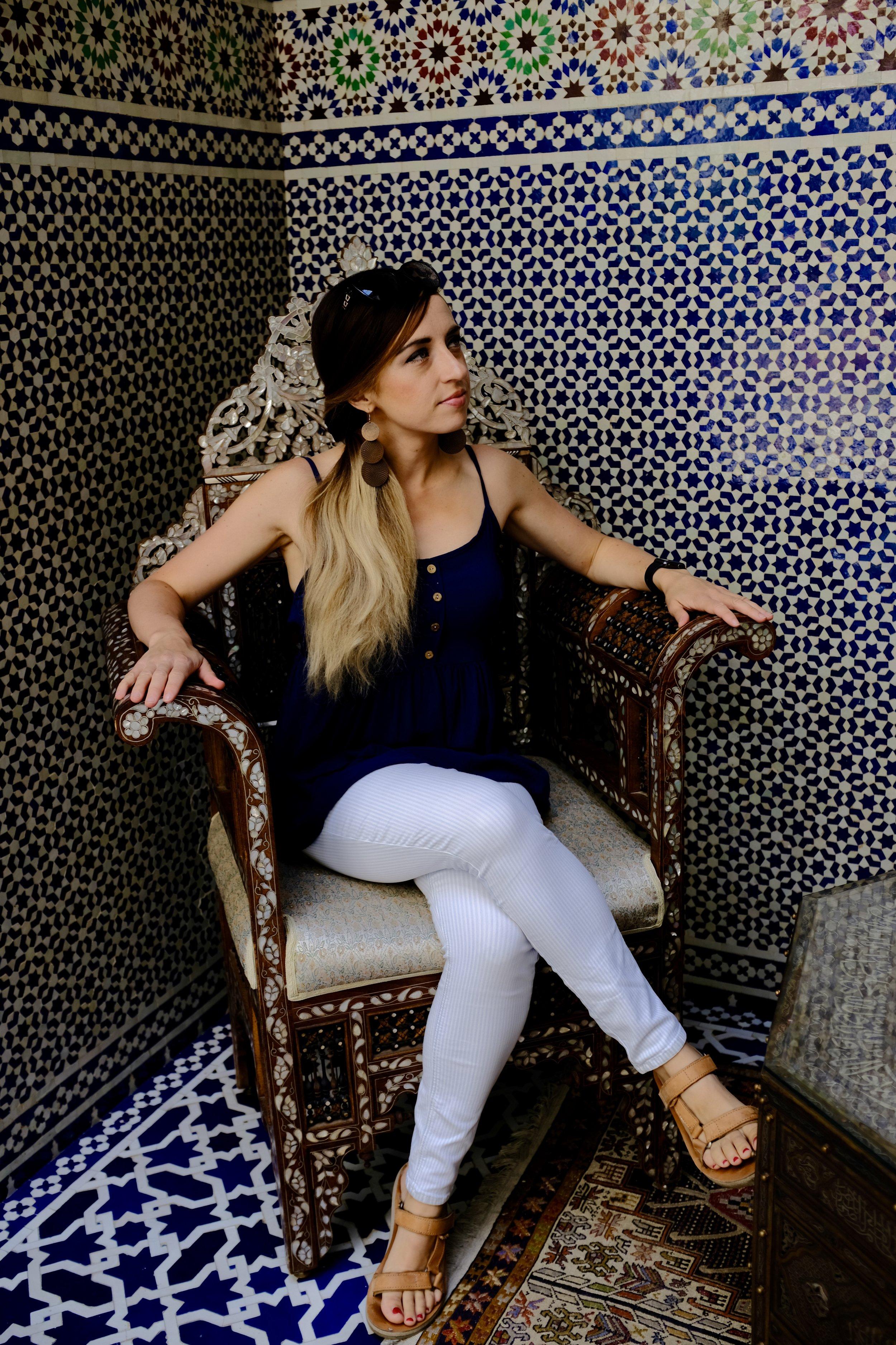 Riad Fes Maya_City Nibbler_Fez Morocco