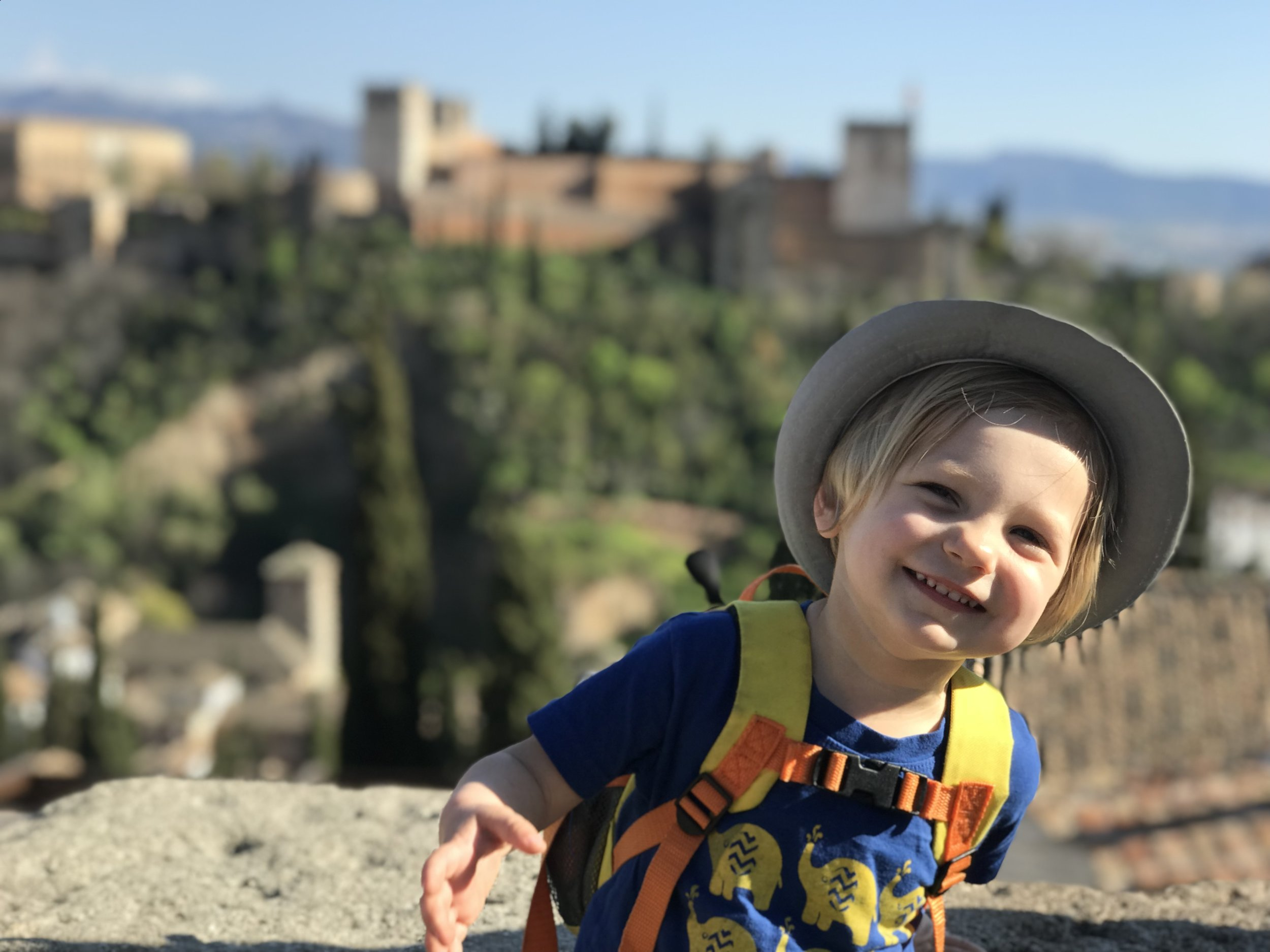 Alhambra Lookout_City Nibbler_Granada Spain