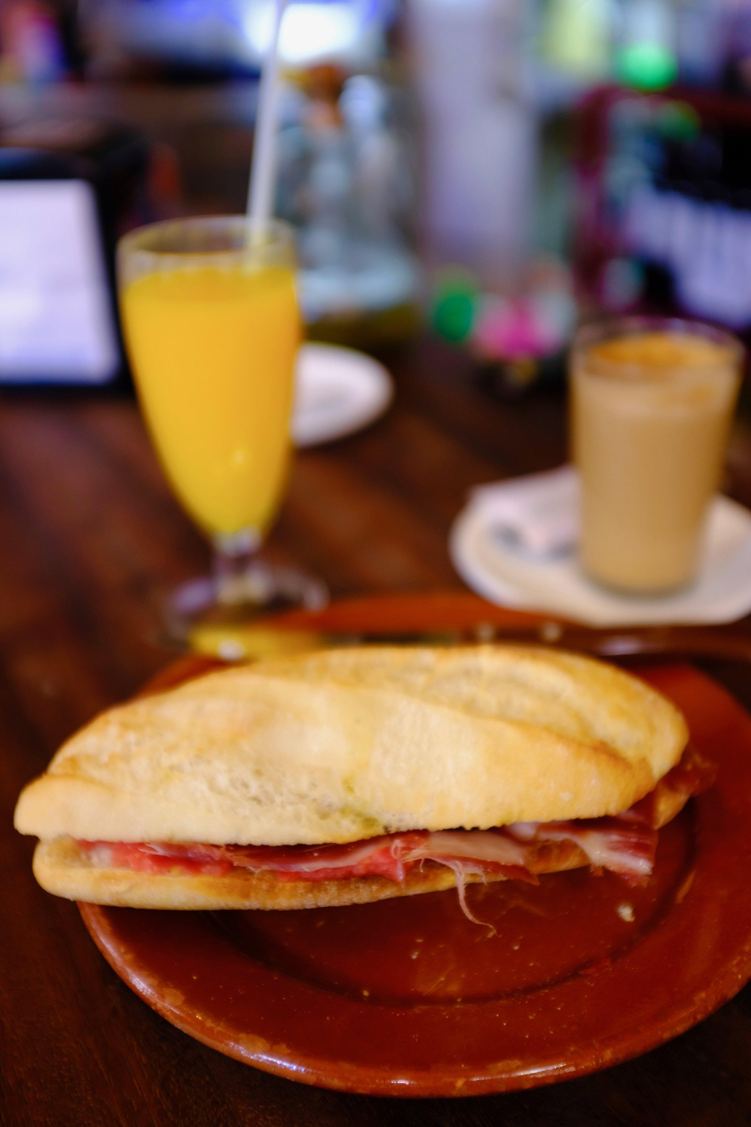 Spanish Breakfast_City Nibbler_Seville