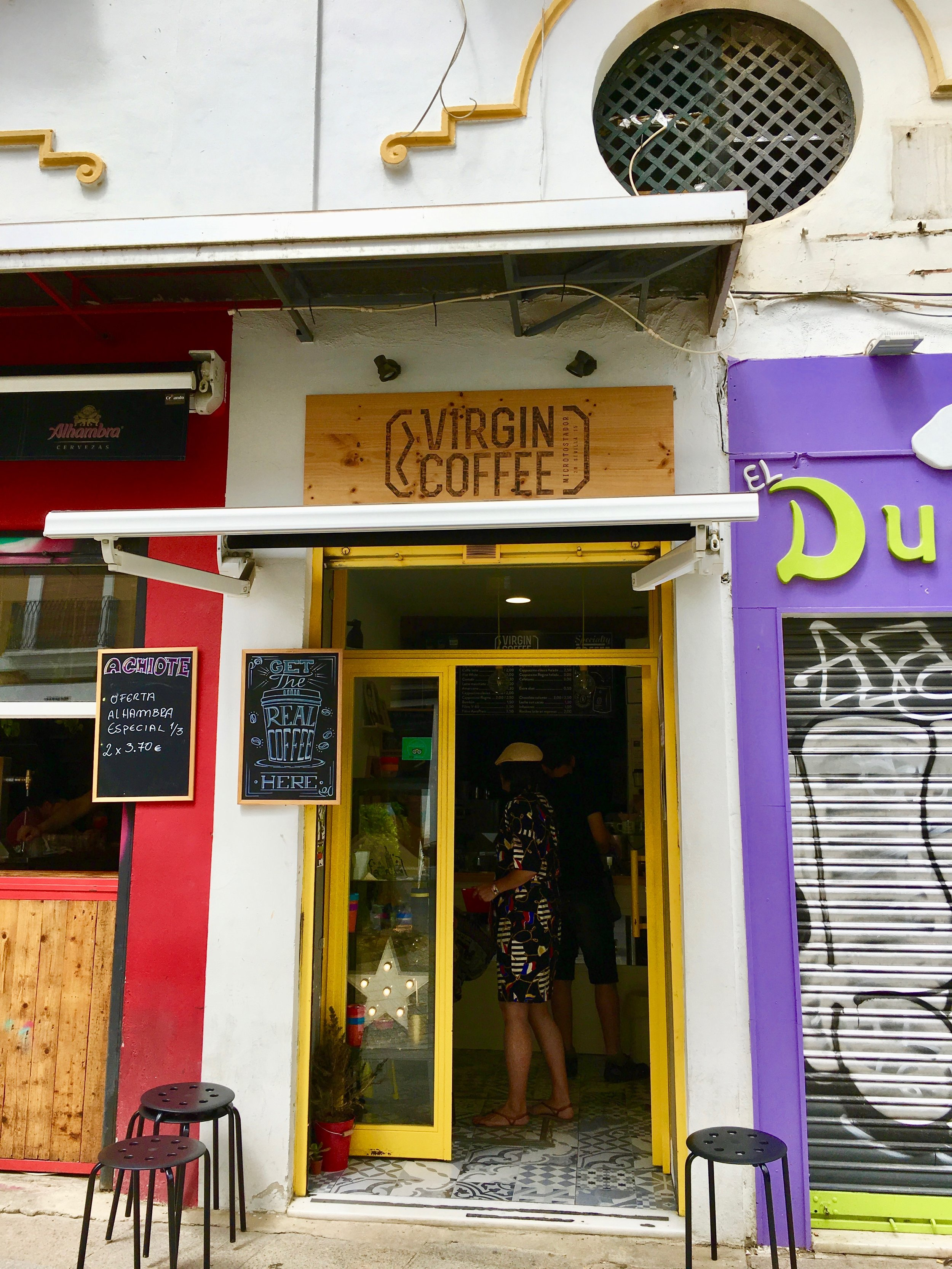 Virgin Coffee_City Nibbler_Seville