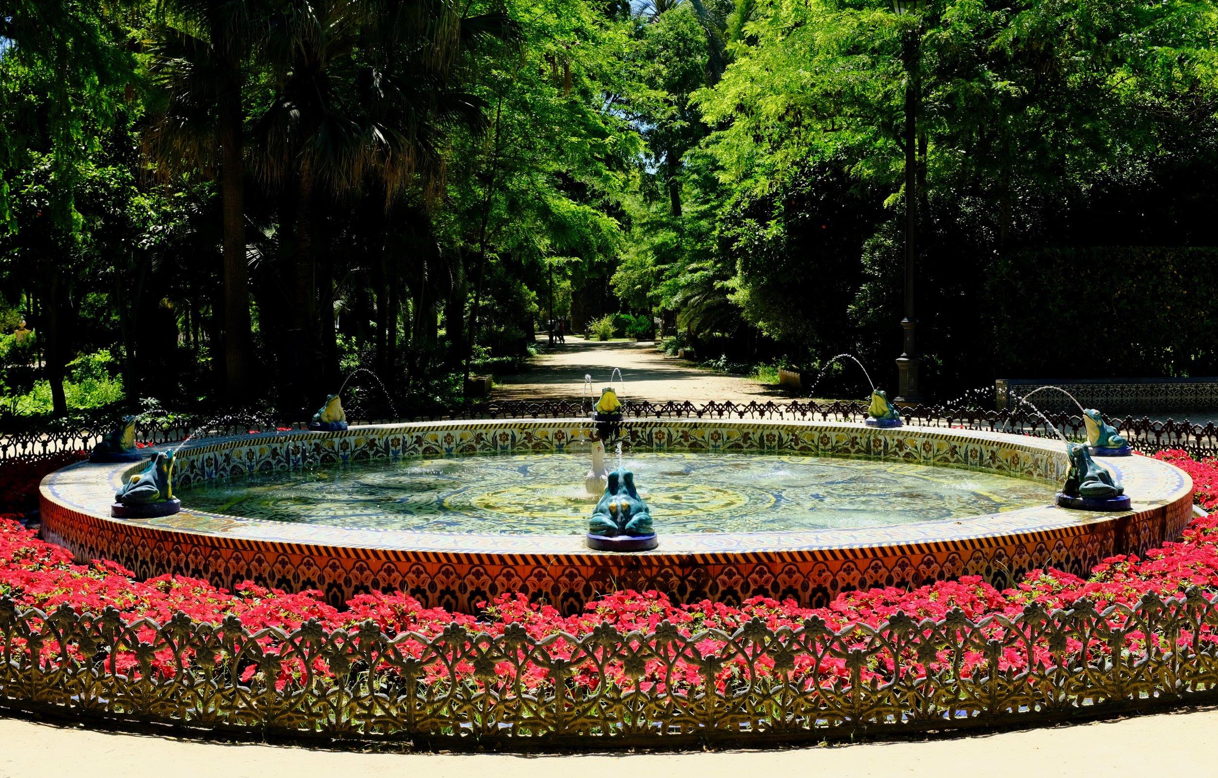 Fountain of the Frogs (Fuente de las Ranas)