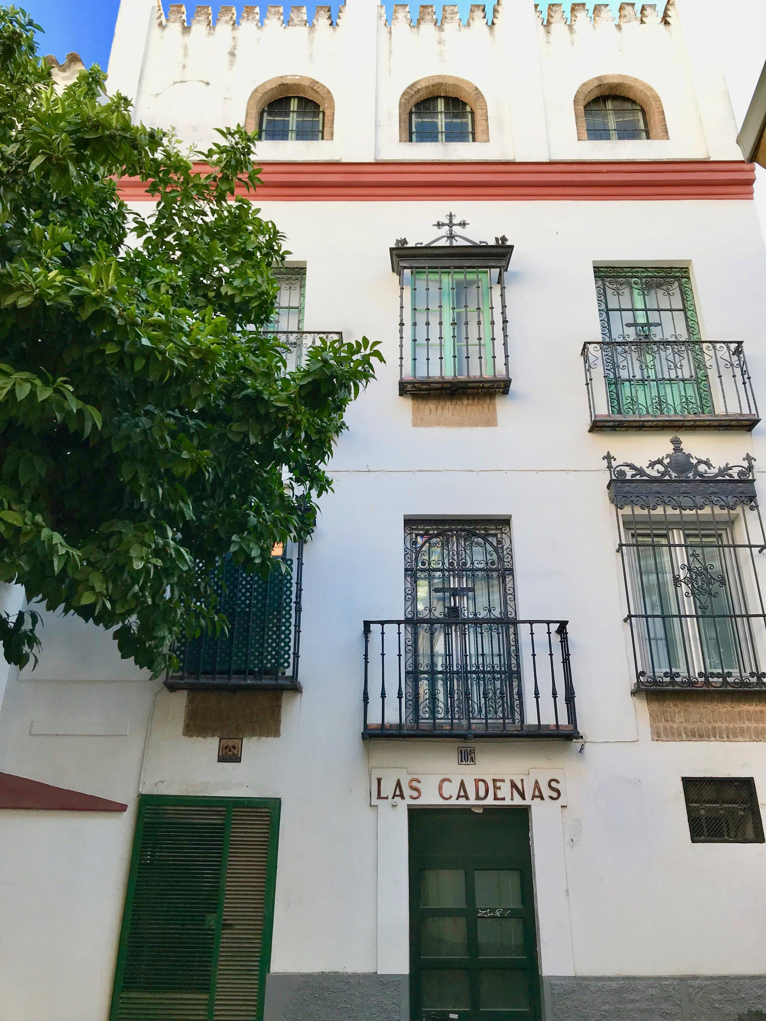 Susona's house and balcony.