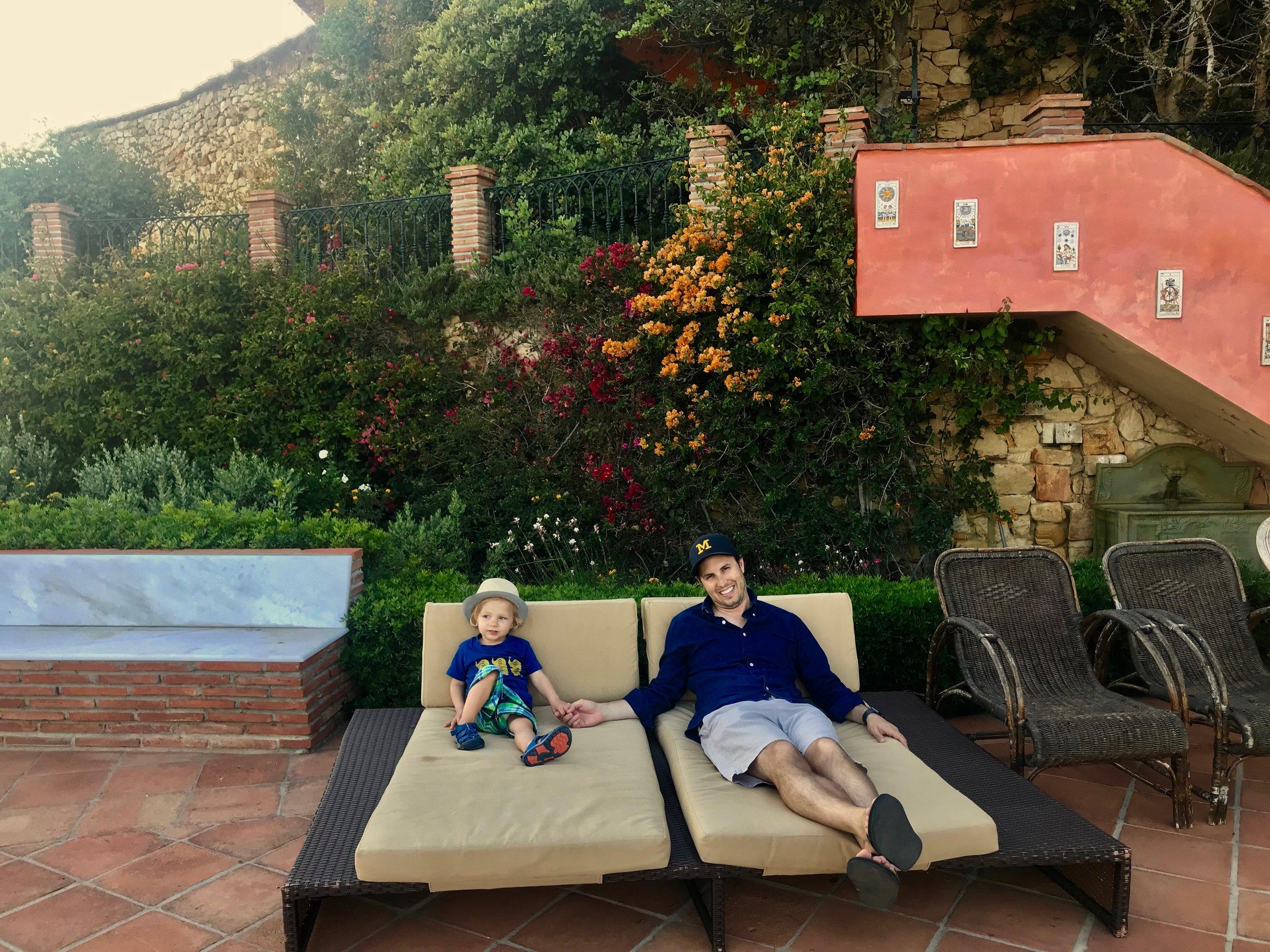 El Dorado private balcony.