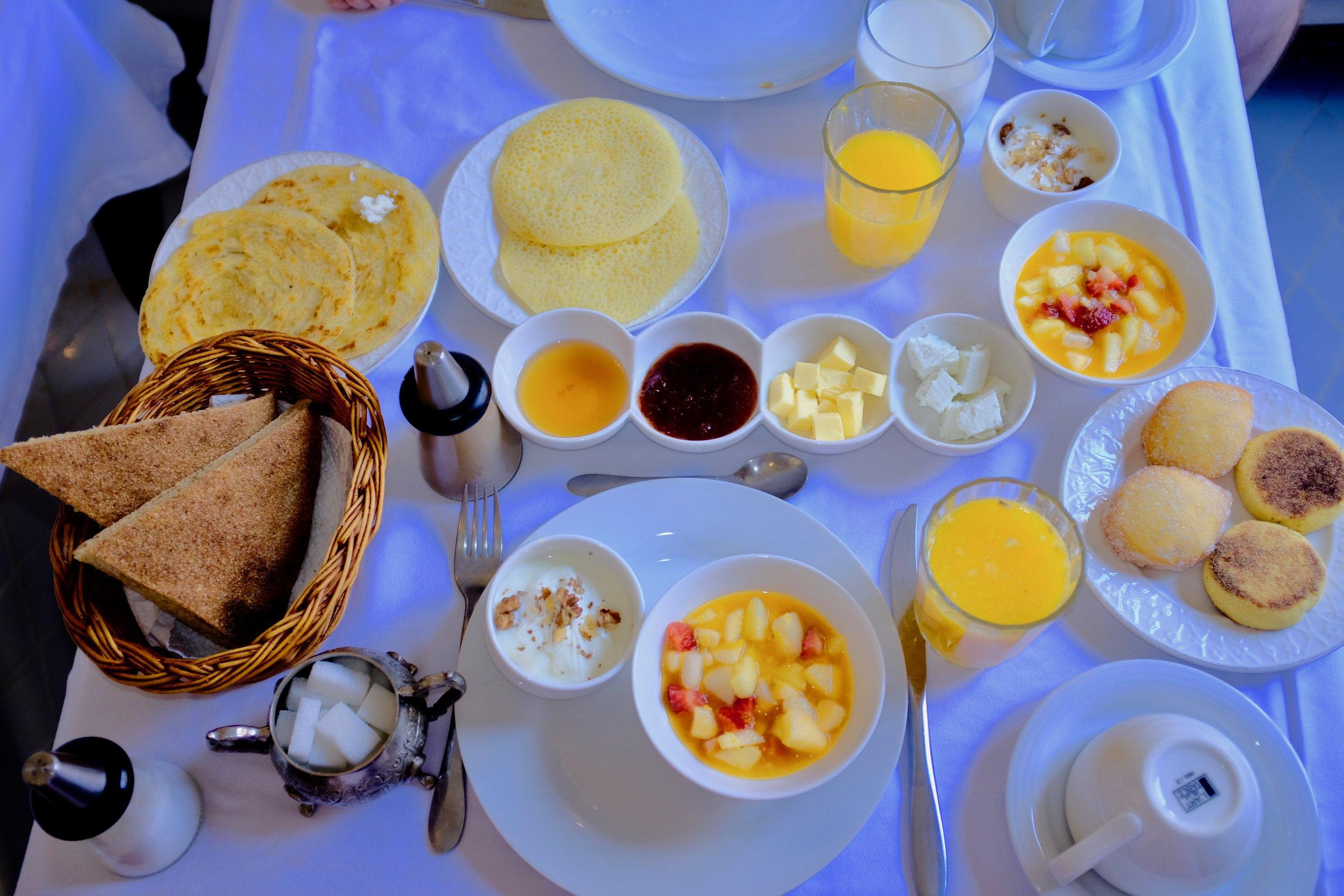 Fancy Moroccan Breakfast in Chefchaouen.