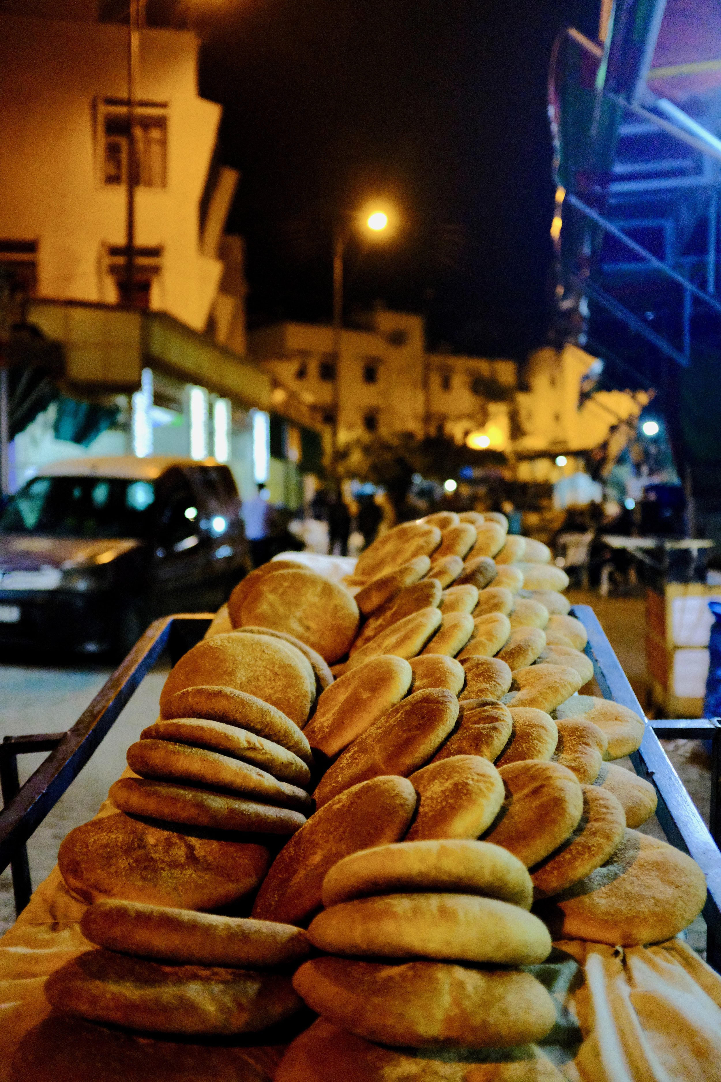 Bread from Moulay Idriss, Morocco.