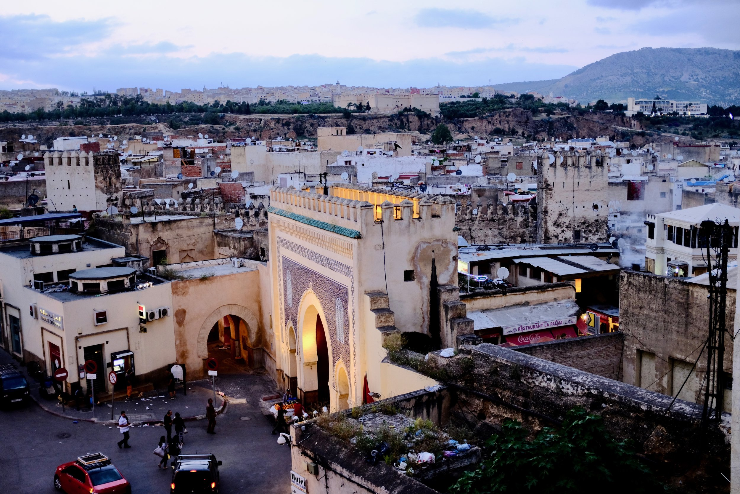 Fez, Morocco During the Call to Prayer.