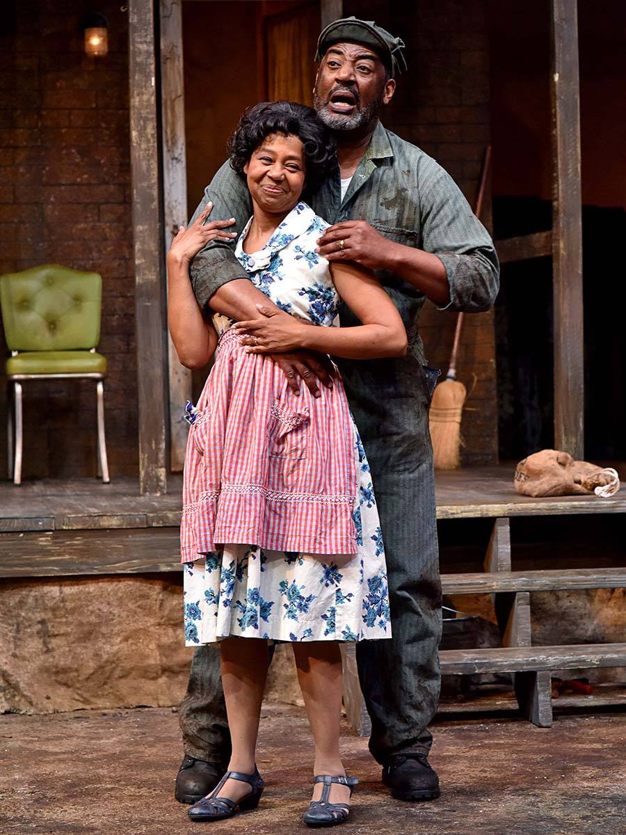 "Playing Rose with Derrick Weeden in ""Fences"""