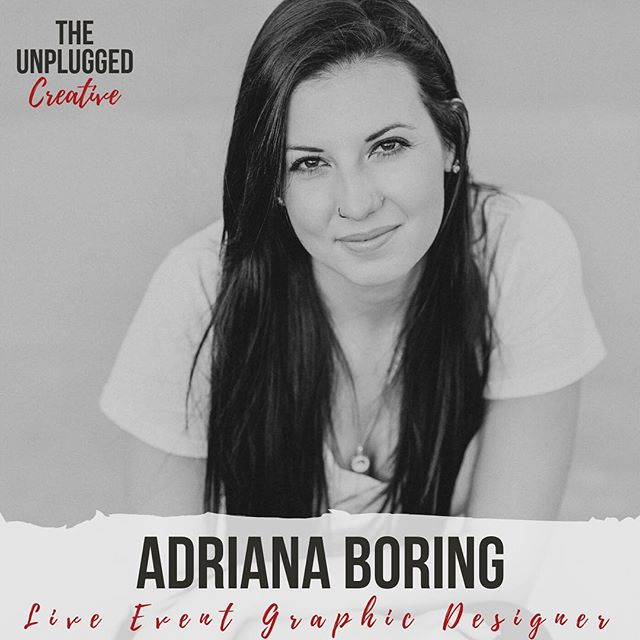 Some people come into your life and it feels like magic. Then you try and do a podcast interview with one of those people, but Mercury is in retrograde so it doesn't actually work. But then you've left room for magic...⠀ .⠀ .⠀ Spoiler, this magical person is Adriana Boring and when we FINALLY got on our call, it was 12/12 at 12. Completely by accident, this episodes would up being #12 which Adriana pointed out this morning. ⠀ .⠀ .⠀ Give a listen and be a part of this magical moment through the link in my bio @theunpluggedcreative 👆🏼