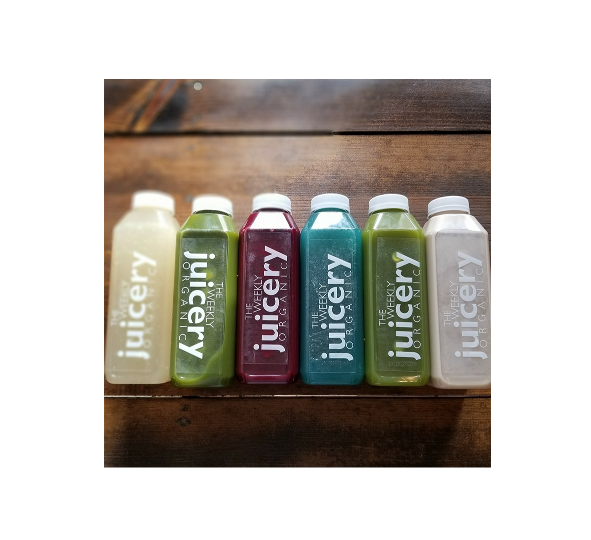 Juicery Juices with Different Flavors