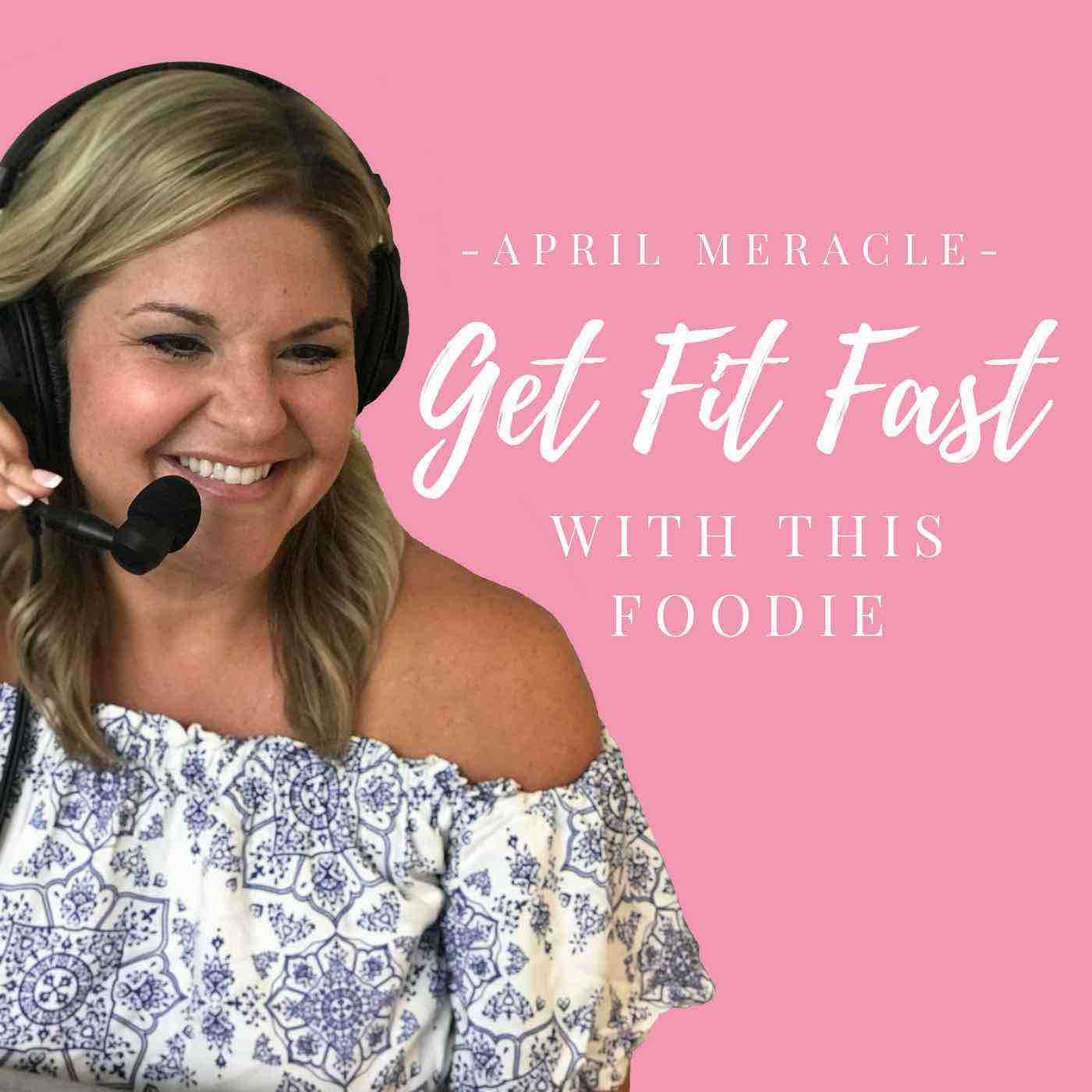 Pink Podcast Cover for April Meracle