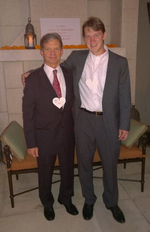 Heart to Heart Founder and Medical Director Dr. Nilas Young and heart patient Ben Parker pictured together at our 25th anniversary celebration in 2014. Dr. Young operated on Ben nearly three decades ago, at the same time he was establishing Heart to Heart.