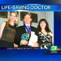 KCRA 3 News: World of Children 2012 Health Award goes to Dr. Nilas Young