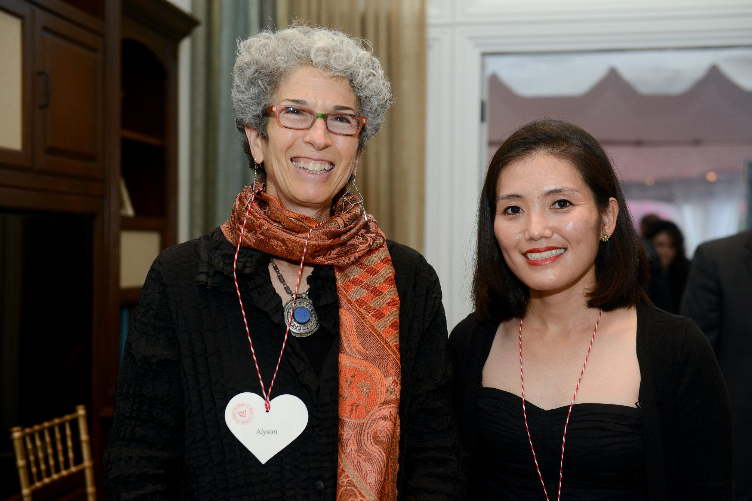 Alyson Kuhn and Sheri Kuniyuki