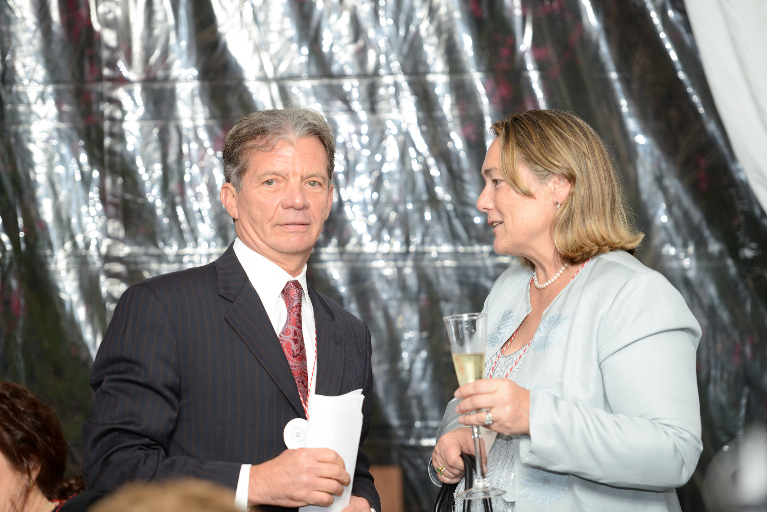 Nilas Young, MD and Jennifer Osborne Share a Moment