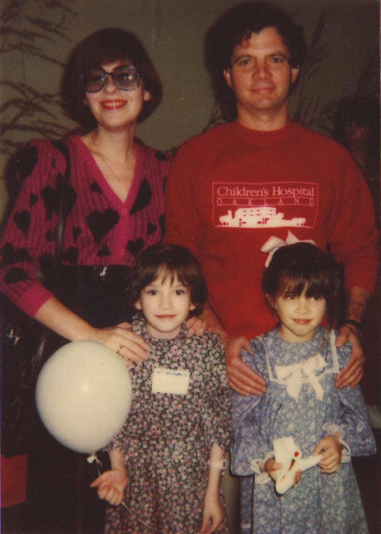 Elena Senotova, Masha Senotova, Nilas Young, Lindsey Young - Feb 14, 1989.jpg