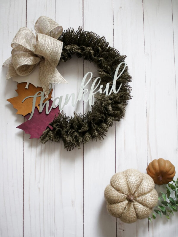 Copy of Dollar Tree Mini Wreath Diy
