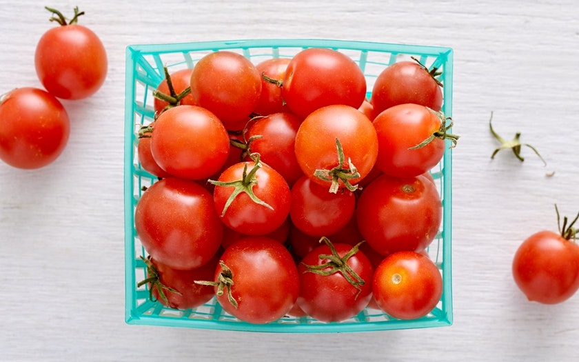 From Our Farmers  Organic Red Cherry Tomatoes  $4.49