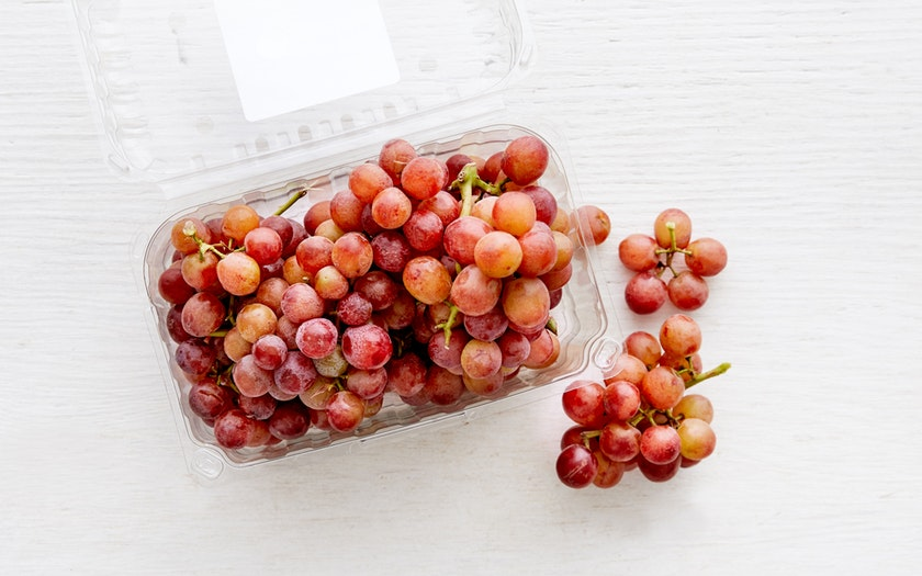 Good Eggs Produce  Organic Seedless Red Flame Grapes  $3.99