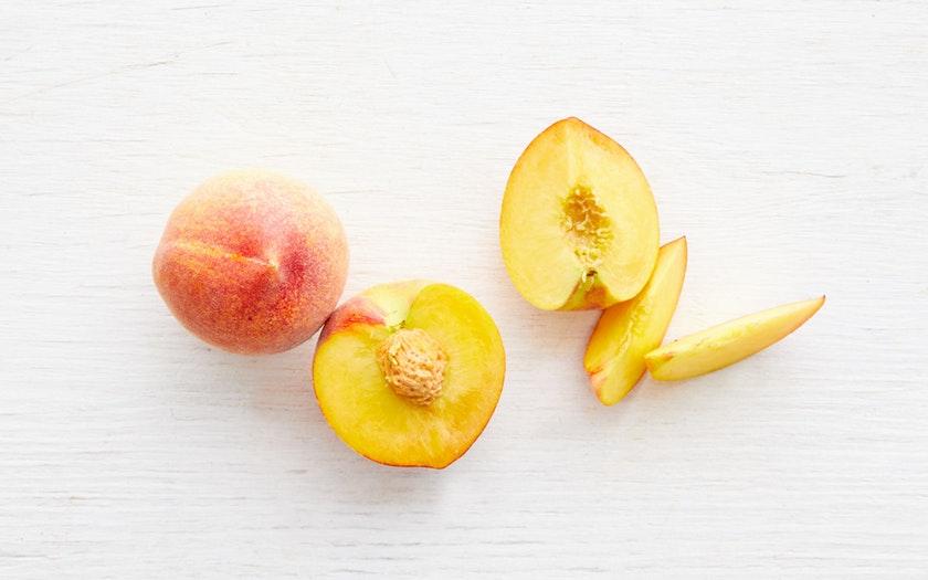 Masumoto Family Farm  Organic Sun Crest Yellow Peach Duo  $4.99