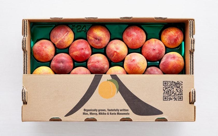 Masumoto Family Farm  Organic Peach Flat of the Week  $39.99