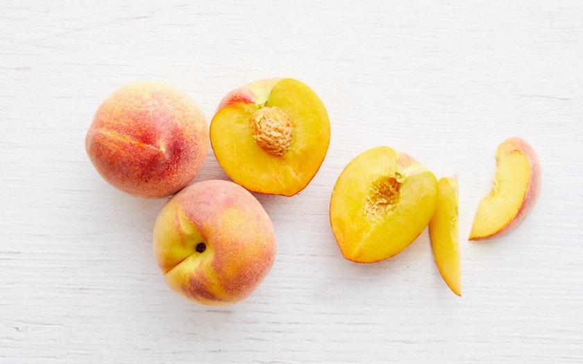 Masumoto Family Farm  Organic Gold Dust Yellow Peach Trio  $4.29