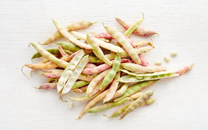 Dwelley Farms  Organic Fresh Cranberry Beans  $6.99