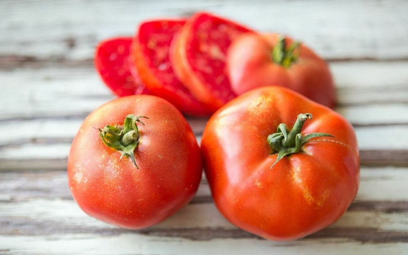 Gauchito Hill Farm  Organic Red Beefsteak Tomatoes  $4.99