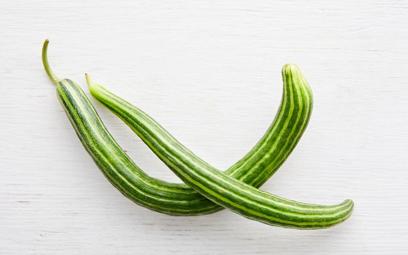 F.E.E.D. Sonoma  Organic Painted Serpent Cucumbers  $3.49