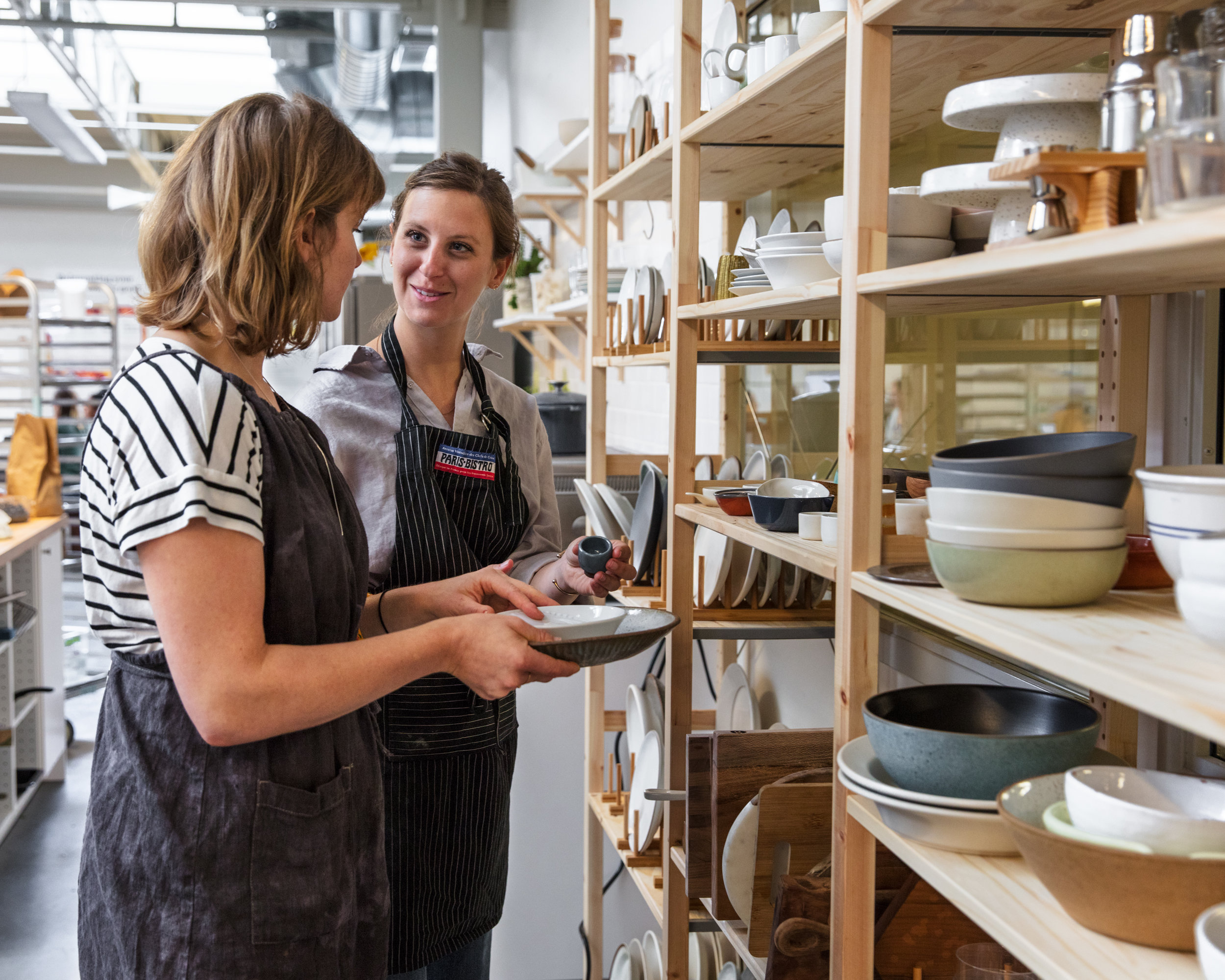 We source props from local ceramicists and surface makers. Some of our favorites come from  Sarah Kersten , Rule and Level Studio , and  Jered's Pottery.