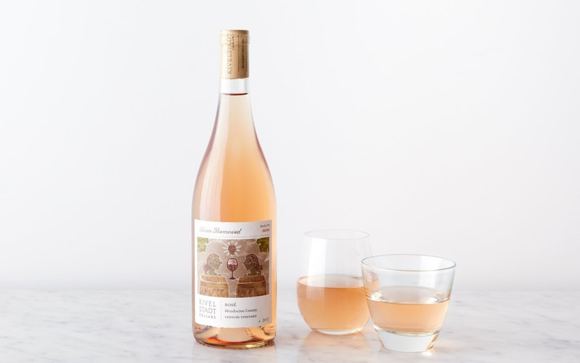 Kivelstadt Cellars   Twice Removed Rosé   $19.99