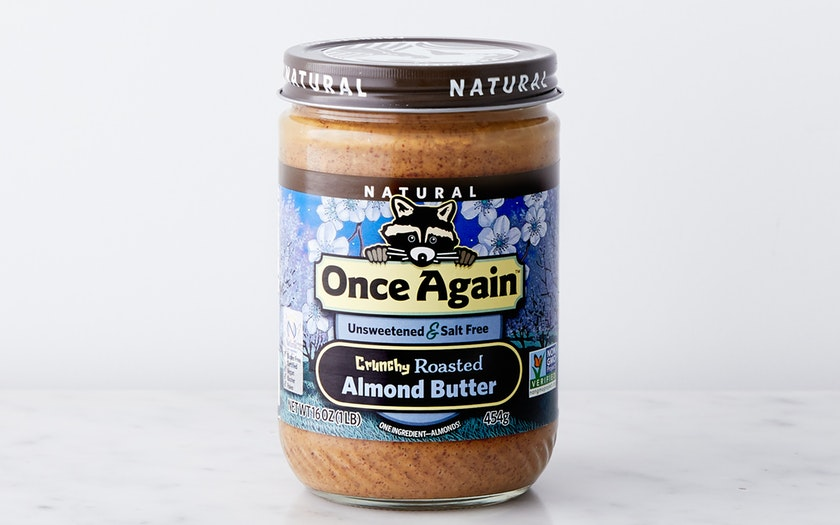Once Again Nut Butter    Natural Crunchy Almond Butter    $13.99
