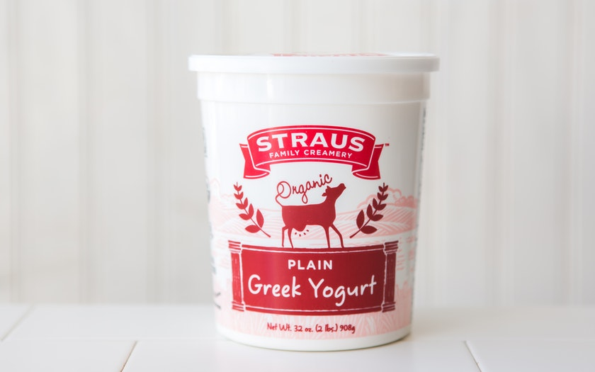 Straus Family Creamery    Organic Whole Greek Yogurt    $7.99