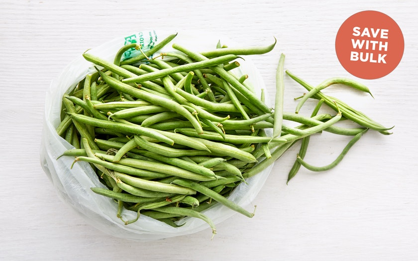 Terra Firma Farm   Bulk Organic Blue Lake Green Beans     $7.99