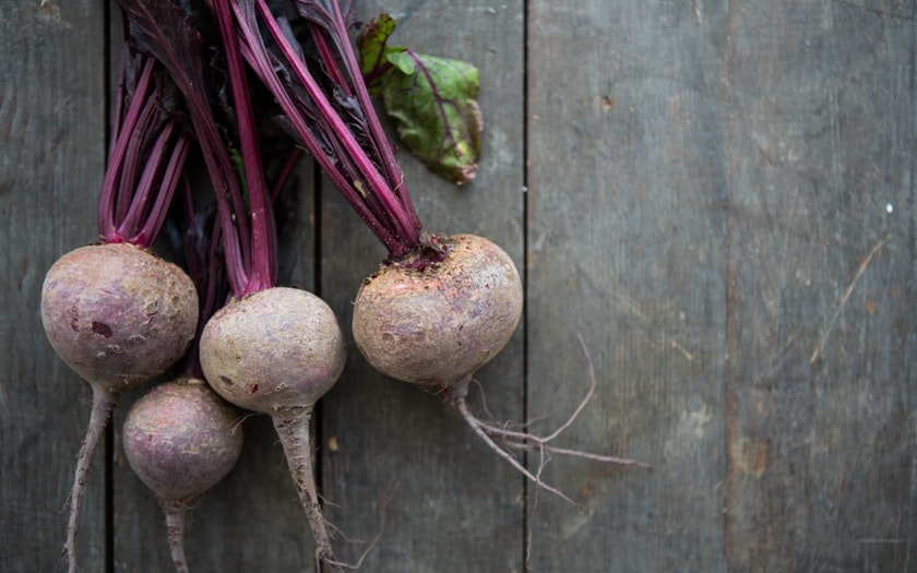 Terra Firma Farm   Organic Bunched Red Beets     $2.49