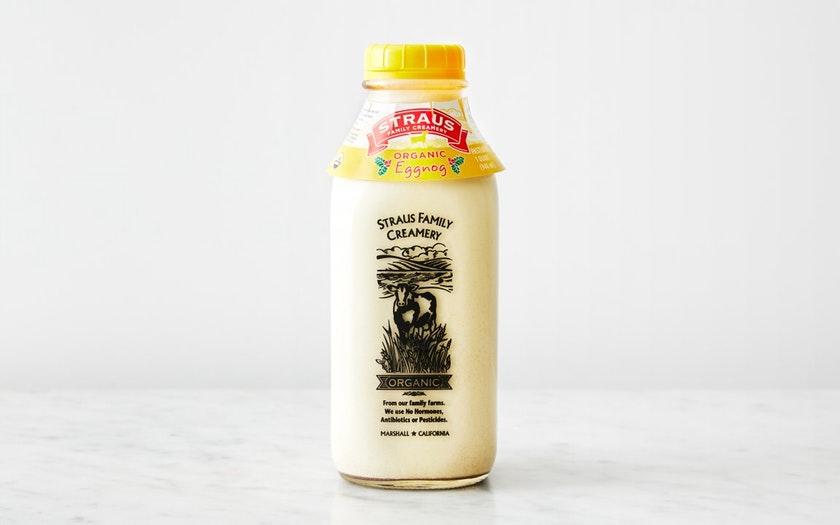 Straus Family Creamery   Organic Eggnog     $6.79