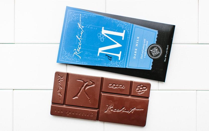 Recchiuti Confections   Dark Milk Chocolate Bar     $7.99