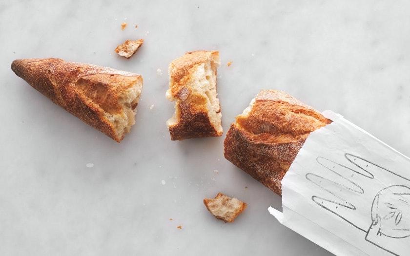 As Kneaded Bakery   Baguette     $3.99