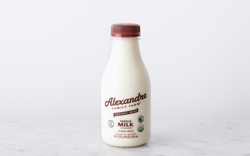 Alexandre Family Farm   Organic A2 Vanilla Whole Milk     $2.49
