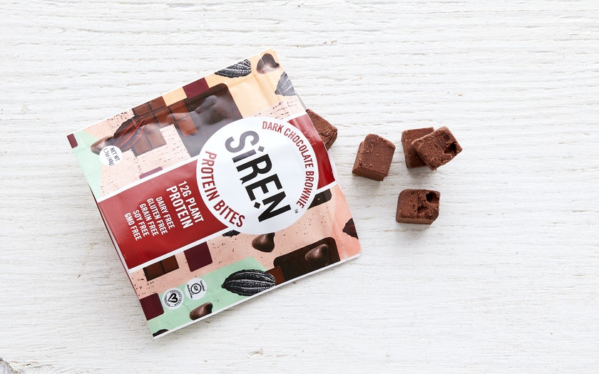 Siren Snacks   Dark Chocolate Brownie Protein Bites     $2.99
