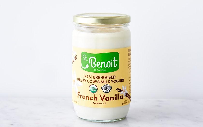 St. Benoit Creamery   Organic French-Style Vanilla Yogurt     $6.99