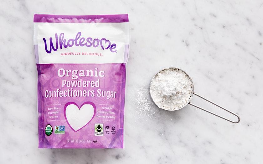 Wholesome Sweeteners   Fair Trade Organic Powdered Sugar     $4.59