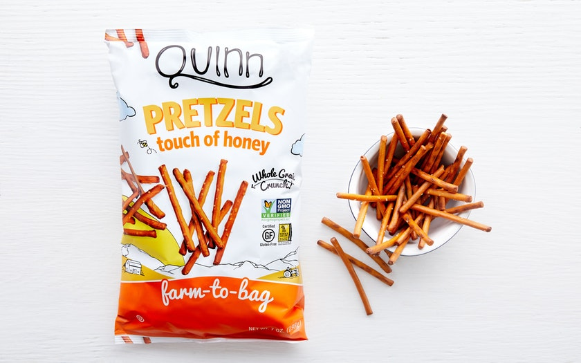 Quinn Snacks   Touch of Honey Pretzels (Gluten-Free)     $4.49
