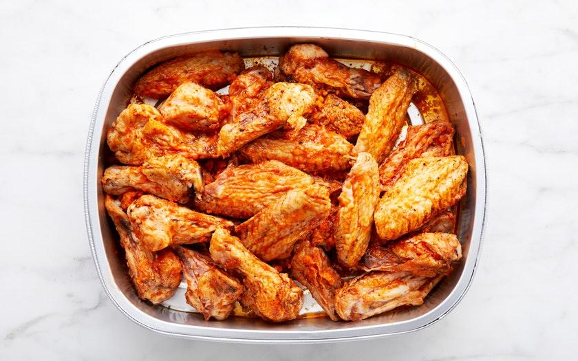 Good Eggs Kitchen   Roasted Buffalo Chicken Wings     $17.49