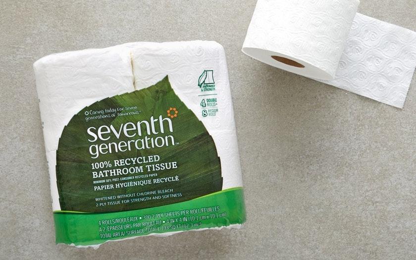 Seventh Generation   Chlorine-Free Toilet Paper     $4.99