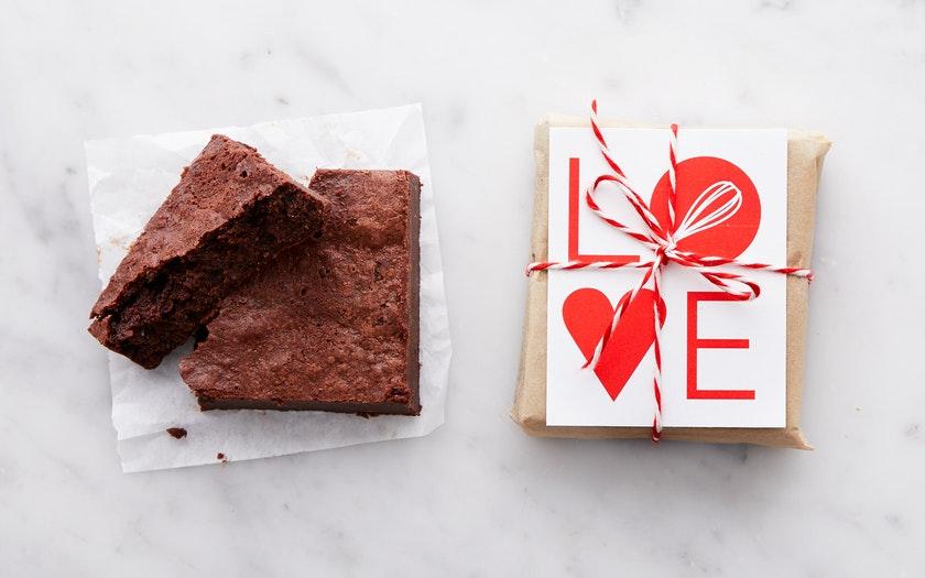 Batter Bakery   Valentine's Day Chocolate Brownie     $4.99