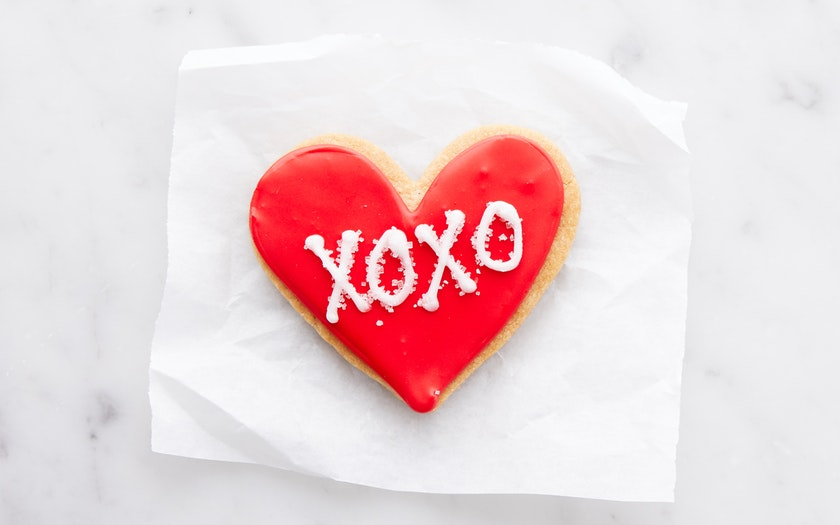 Batter Bakery   Hand-Decorated Valentine's Day Shortbread Heart     $4.99