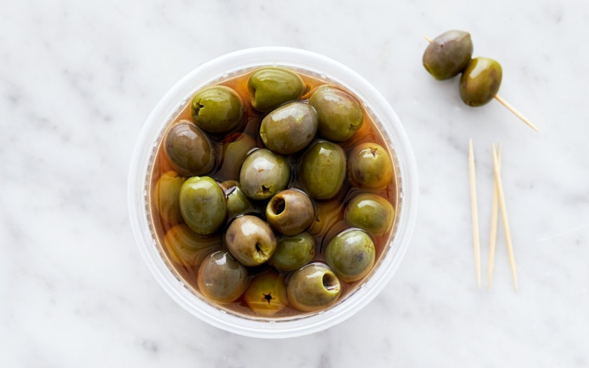 Good Eggs Kitchen   Pitted Castelvetrano Olives     $5.99