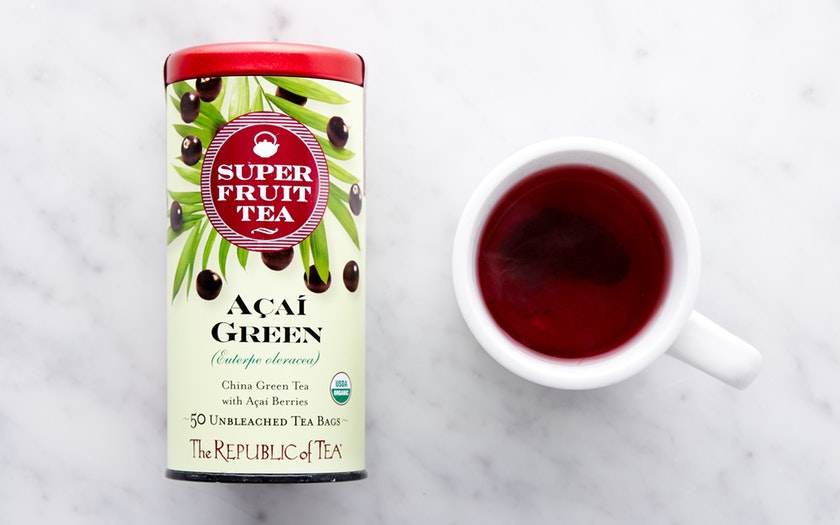 The Republic of Tea   Organic Açaí Green Tea     $10.99
